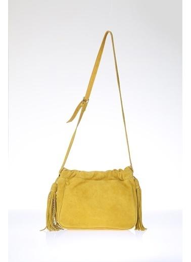 Exclusive Messenger / Askılı Çanta Sarı
